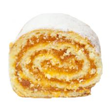Рулет  с абрикосовой начинкой  вес 3кг