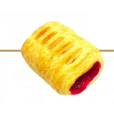 Печенье Удача с малиновой начинкой вес 1,7 кг