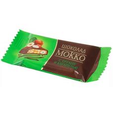 """Шоколад """"Мокко с начинкой орех карамель"""" 500 гр"""