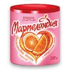 """Мармелад """"Мармеландия Апельсин дольки"""" 250гр"""