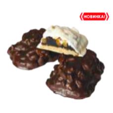"""Печенье """"Ореховое с изюмом"""" в темной глазури 2,4кг"""