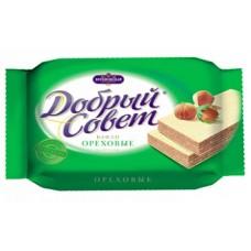 """Вафли диабет """"Добрый совет"""" на фруктозе орех 73г"""
