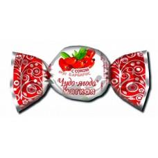 """Карамель """"Чудо-ягода мягкая вк с соком барбарис"""" вес 3кг"""